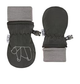 Kombi The Baby Animal Foldable Cuff Infants Mittens