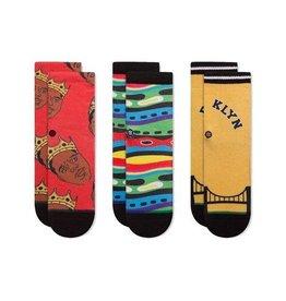 Stance Socks Biggie Toddler Socks Box Set of 3
