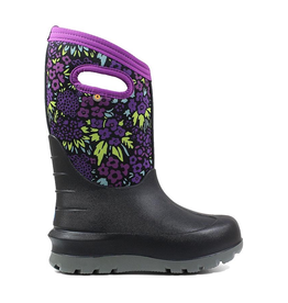 Bogs Kids' Neo-Classic NW Garden in Black Multi