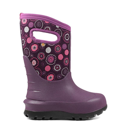 Bogs Kids' Neo-Classic Bullseye in Purple Multi