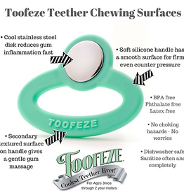 Toofeze Stainless and Silicone Teether