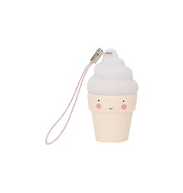 A Little Lovely Co. Charm: Ice Cream White