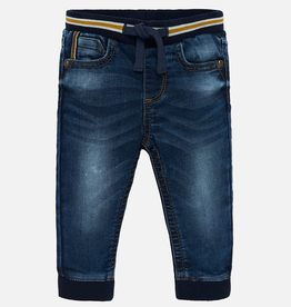 Mayoral Soft Denim Joggers for Baby Boys