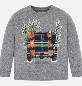 Mayoral Snowboard Van T-Shirt for Boys