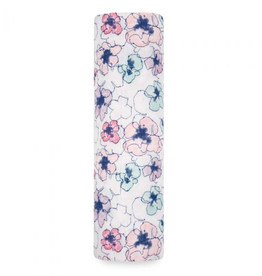 """Aden + Anais trail blooms - flora  47"""" Single classic swaddle"""