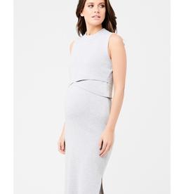 Ripe Maternity Layered Knit Maternity & Nursing Dress