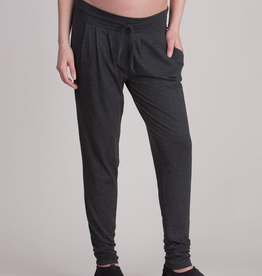 Seraphine Charcoal Marl Maternity Lounge Pants