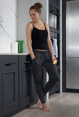 Seraphine Charcoal Marl Maternity Lounge Pants
