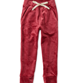 Tea Collection Velour Joggers for Girl