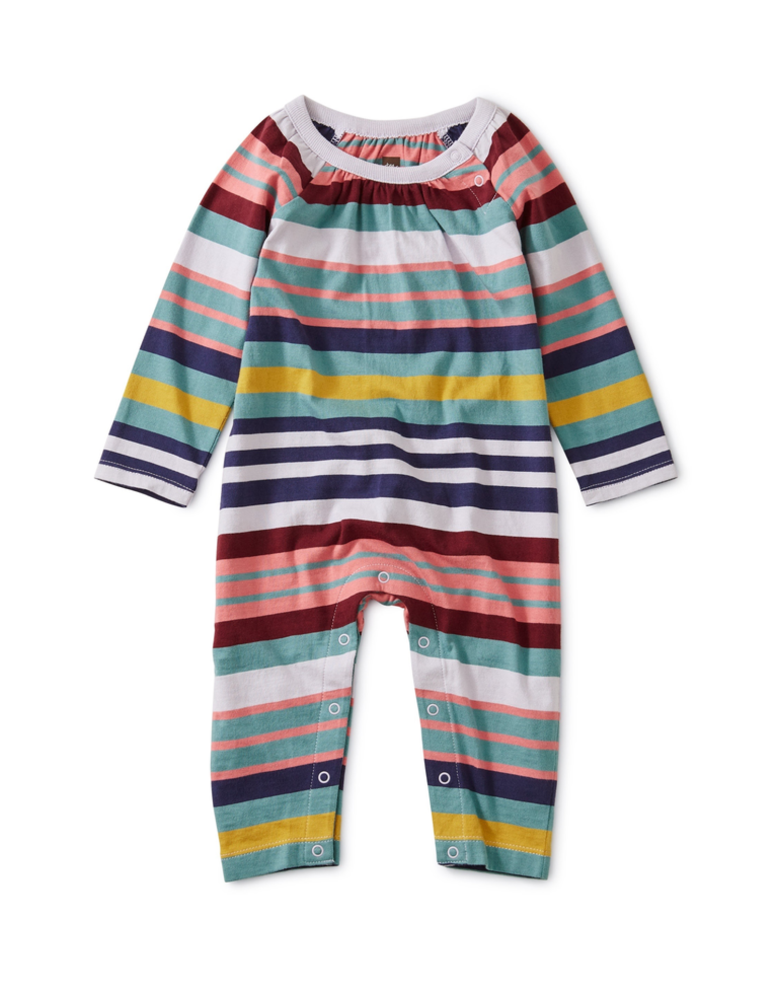 Tea Collection Striped Romper for Baby Girl
