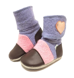 Nooks Design Nebula Felted Wool Booties