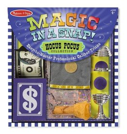 Melissa & Doug Magic Set in a Snap! Hocus Pocus Collection