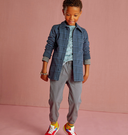 Tea Collection Plaid Button Up Shirt for Boy