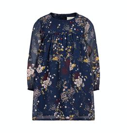 Creamie Printed Chiffon Dress for Girl