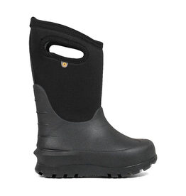 Bogs Kids' Neo-Classic Solid Black