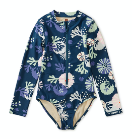 Tea Collection Sea Life Rash Guard One-Piece for Girl