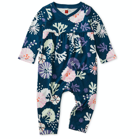 Tea Collection Sea Life Wrap Neck Romper for Baby Girl