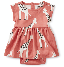 Tea Collection Sweet Sightings Dress Giraffes for Baby Girl