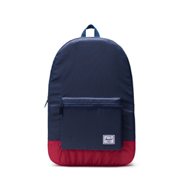 Herschel Supply Co. Adult Packable Daypack, Navy / Red, 24.5L