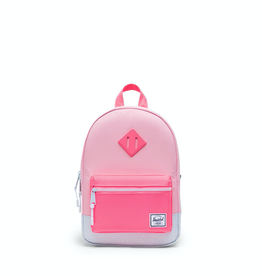 Herschel Supply Co. Heritage Backpack | Kids, Peony/Neon Pink/Ballad Blue Pastel