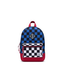 Herschel Supply Co. Heritage Backpack | Kids, Multi Check/Amparo Blue/Red/Black White Checker, 9L