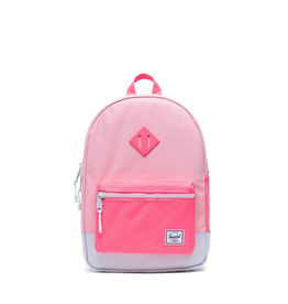 Herschel Supply Co. Heritage Backpack | Youth, Peony/Neon Pink/Ballad Blue Pastel