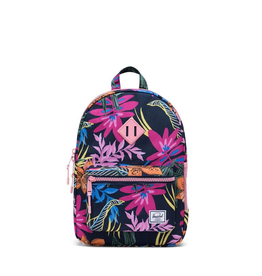 Herschel Supply Co. Heritage Backpack | Youth, Jungle Floral Peacoat Peony