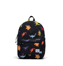 Herschel Supply Co. Heritage Backpack | Youth, Dinosaurs Black