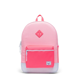 Herschel Supply Co. Heritage Backpack | Youth XL, Peony/Neon Pink/Ballad Blue Pastel