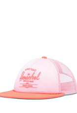 Herschel Supply Co. Whaler Cap Soft Brim | Youth, Peony/Neon Pink
