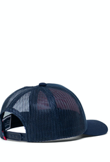 Herschel Supply Co. Baby Whaler Cap   Sprout, Peacoat/Highlight