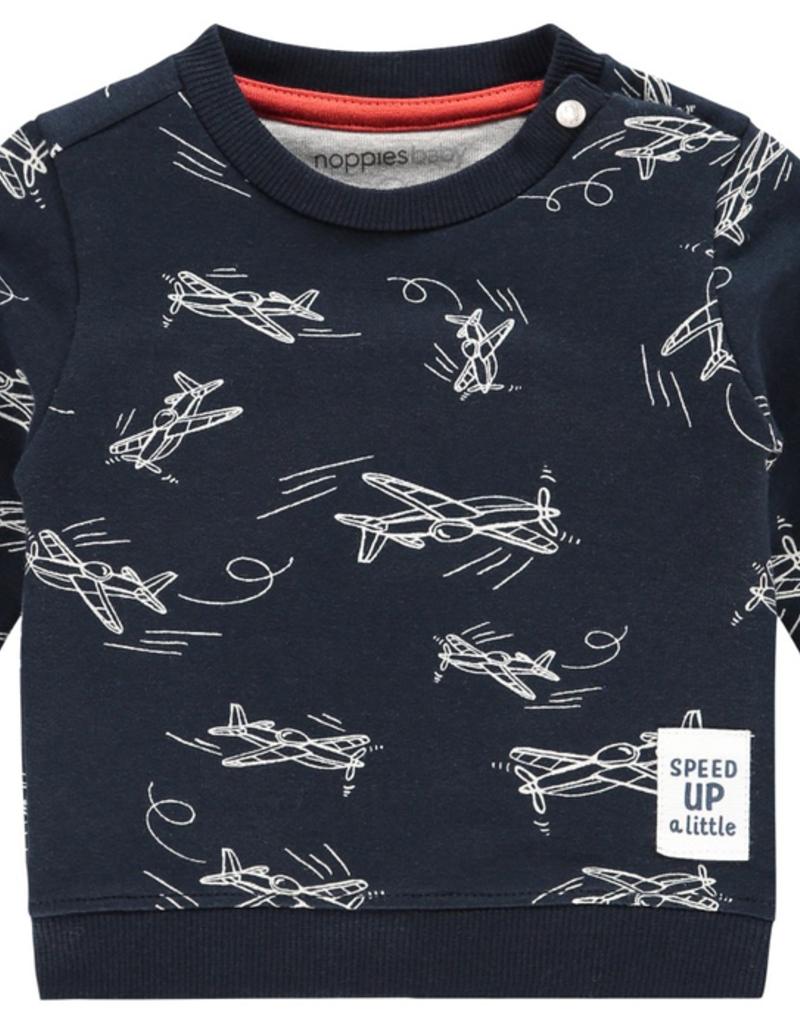 Noppies Kids Archdale Sweater for Baby Boy in Dark Sapphire
