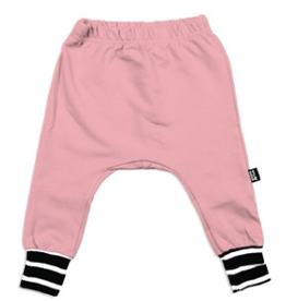 Whistle & Flute Pink Bamboo Joggers