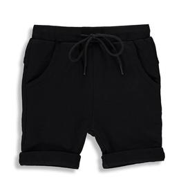 Birdz Children Black Long Shorts for Boy