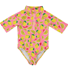 Birdz Children Pink Lemonade Surfer Swimsuit for Girl
