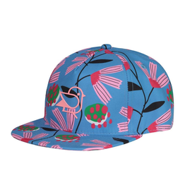Birdz Children Blue Peony Cap for Girl