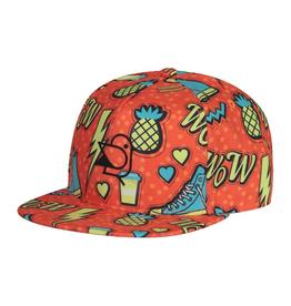 Birdz Children Orange Sneaker Cap for Boy