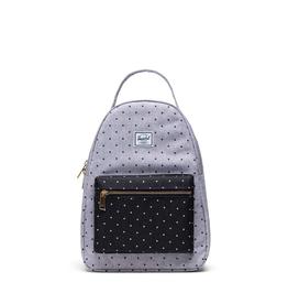 Herschel Supply Co. Nova Backpack | Small, Grey Crosshatch Polka Dot / Black Polkadot, 14L