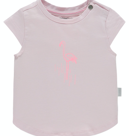 Noppies Kids Cartersville T-Shirt for Baby Girl in Cradle PInk