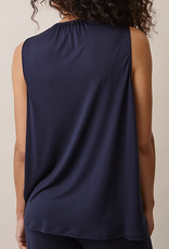 Boob Design Liv Sleeveless Maternity and Nursing Top in Midnight Blue