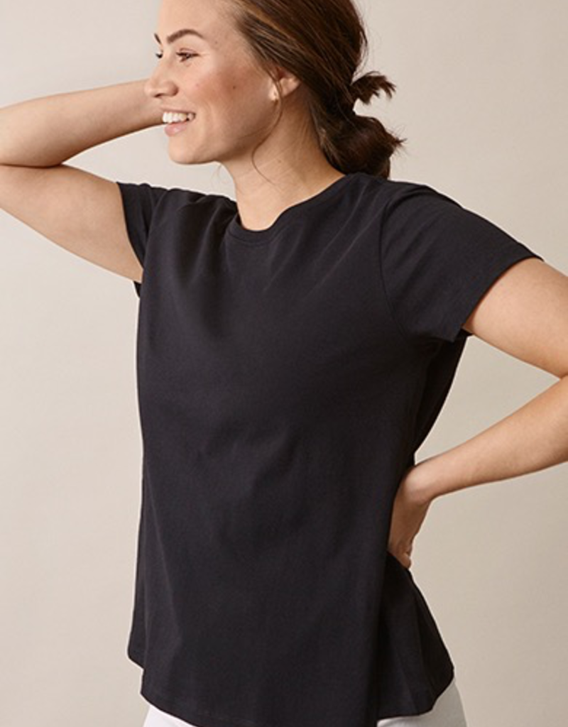 Boob Design The T-Shirt, Maternity and Nursing Top in Black