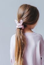 Mimi & Lula Luxury Velvet Scrunchies 2pk, Pink / Grey