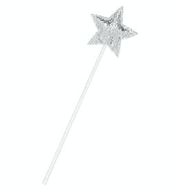 Mimi & Lula Silver Glitter Star Wand