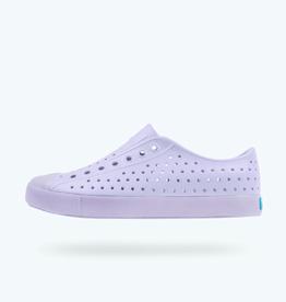 Native Shoes Jefferson Translucent Adult, Powder Purple/ Transparent