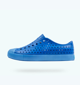 Native Shoes Jefferson Translucent Adult, Victoria Blue/ Transparent