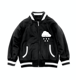 Whistle & Flute Kawaii Cloud Bomber Jacket