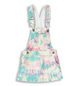 Birdz Children Tie Dye Overall Skirt