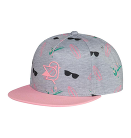 Birdz Children Coconut Surf Cap in PInk