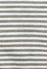 The Remix Tank in Taupe Stripe