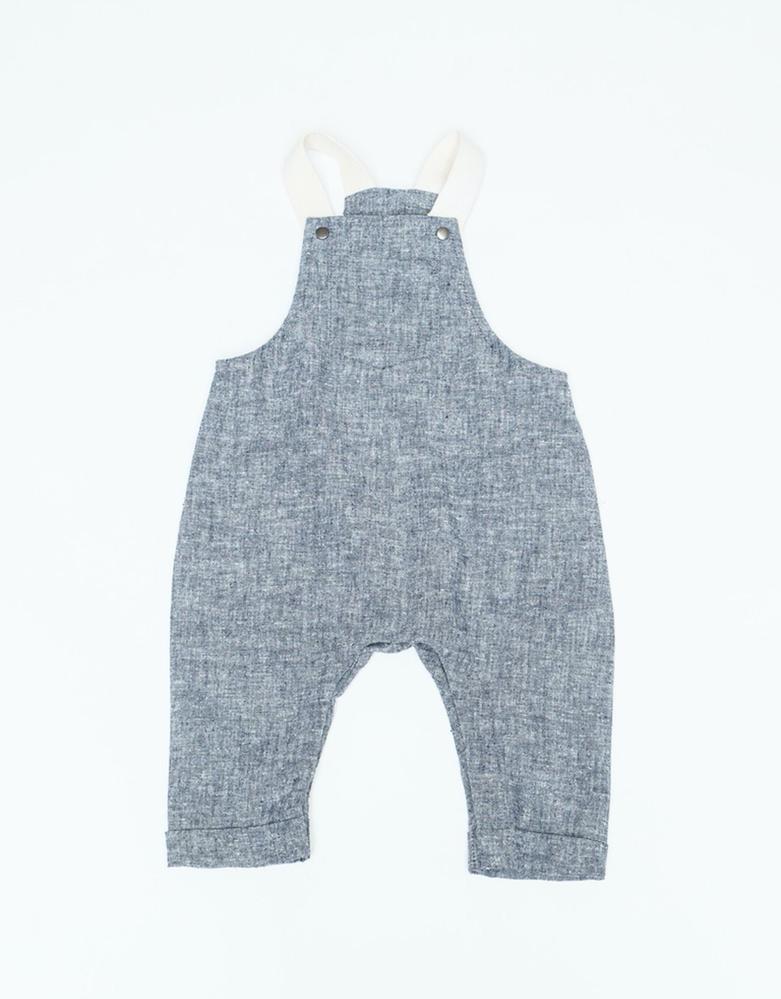 The Bamboo Onesie in Taupe Stripe